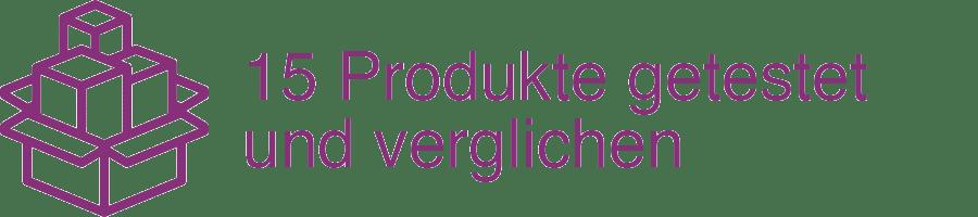 15 Produkte getestet und verglichen