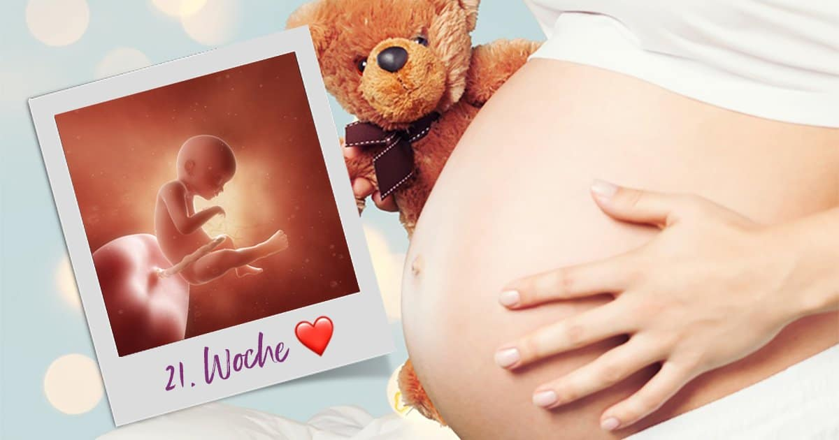 21. SSW (Schwangerschaftswoche)
