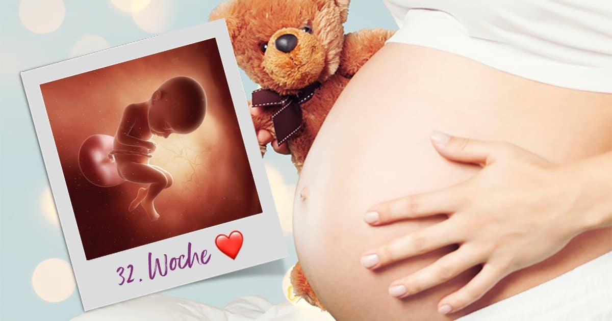 32. SSW (Schwangerschaftswoche)