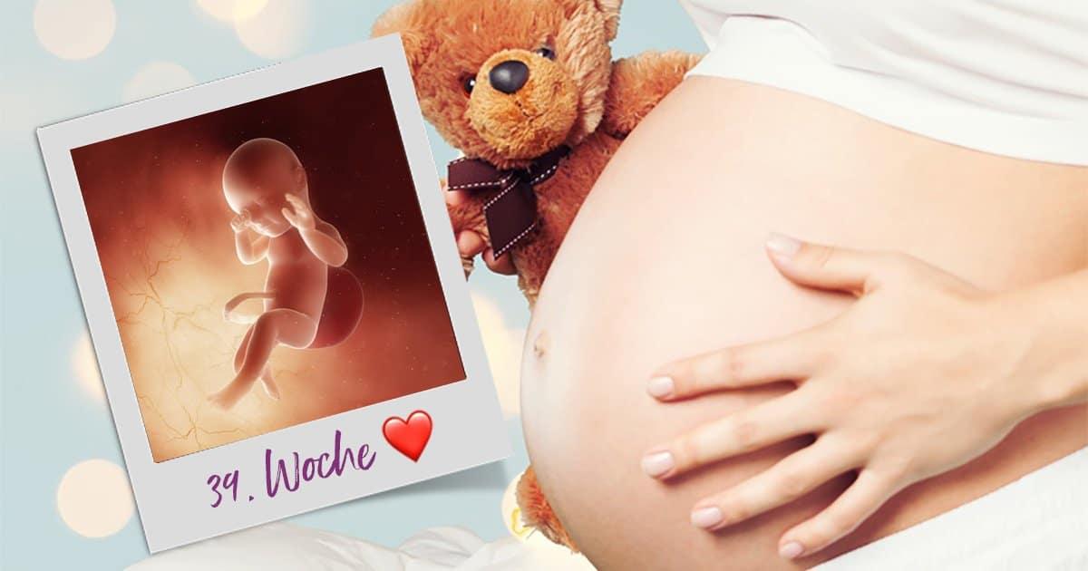 39. SSW (Schwangerschaftswoche)