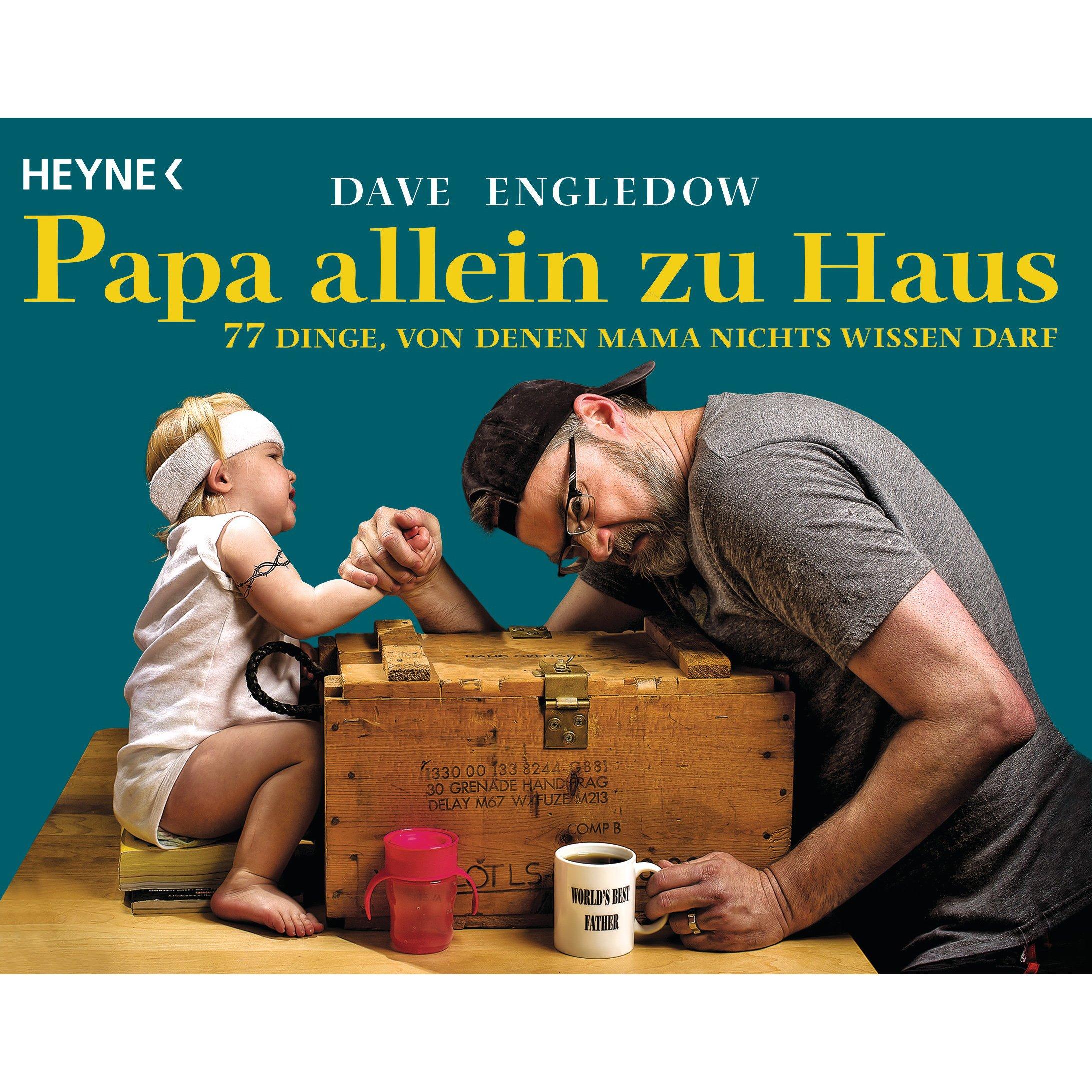 Buchtipp: Papa allein zu Haus