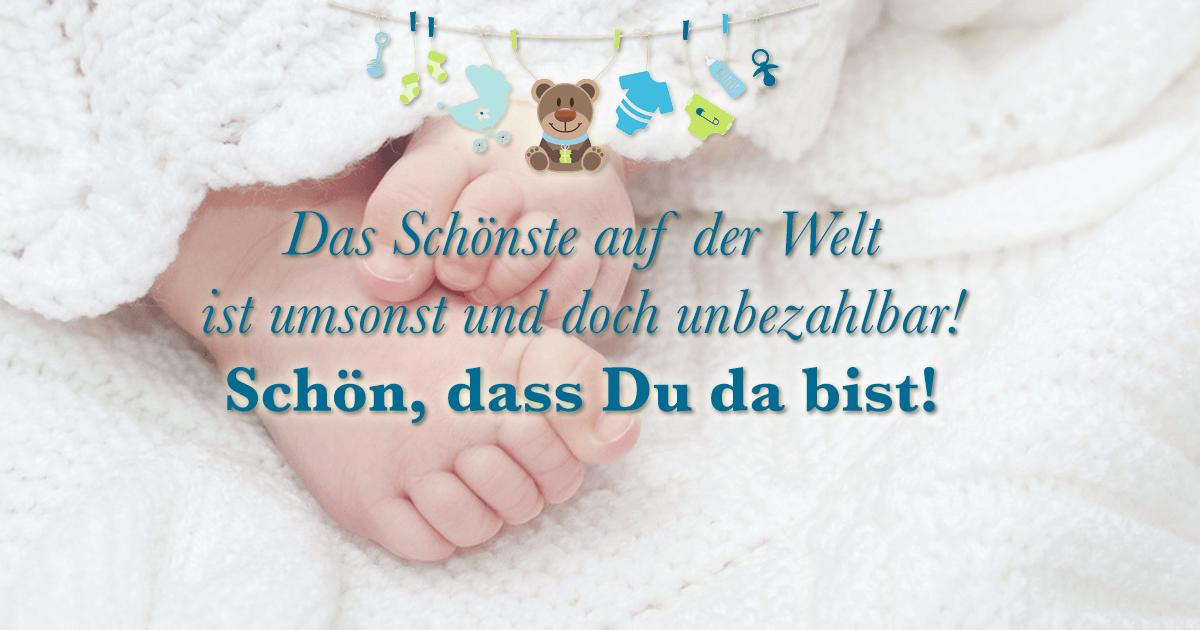 ᐅ Sprüche Zur Geburt Die Schönsten Sprüche Für Babykarten