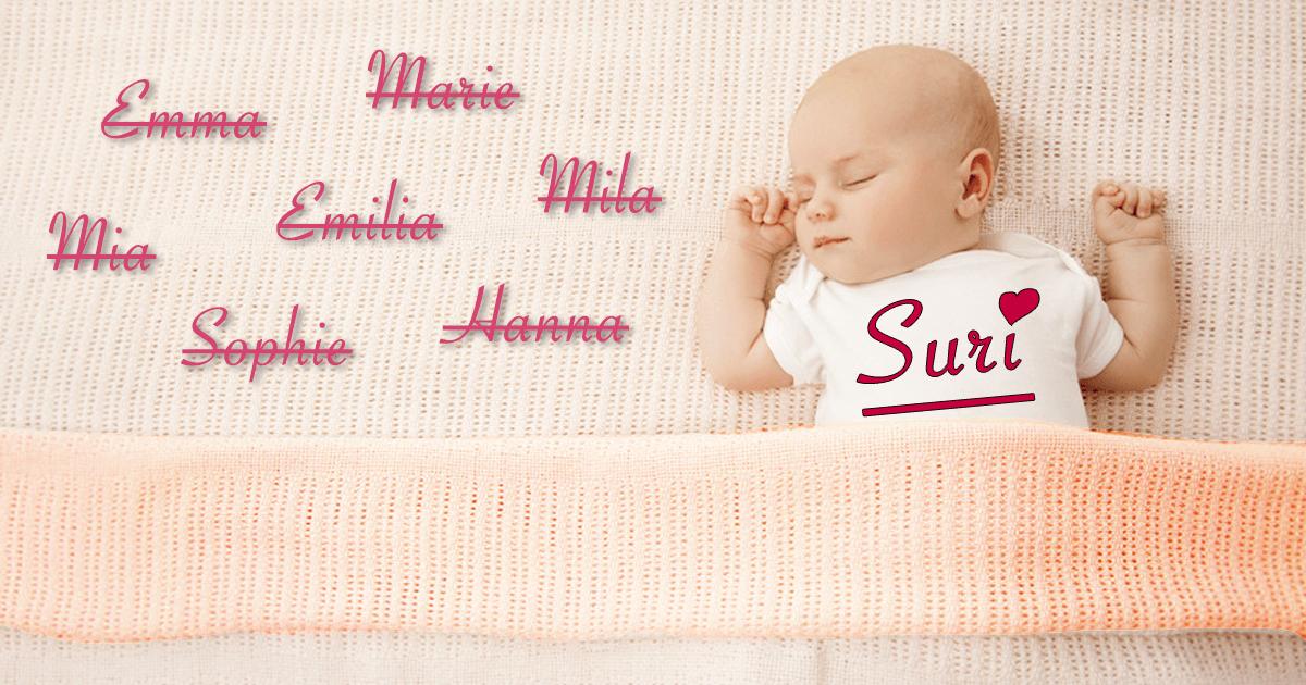 Seltene Mädchennamen
