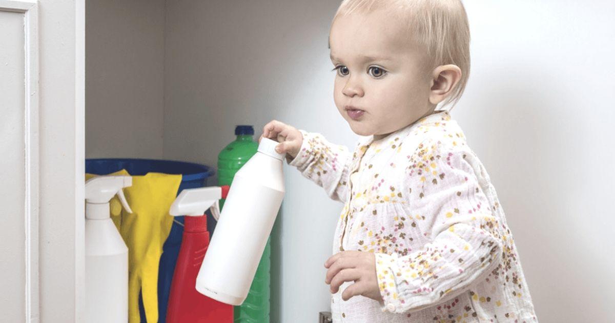 Vergiftungen beim Baby erkennen