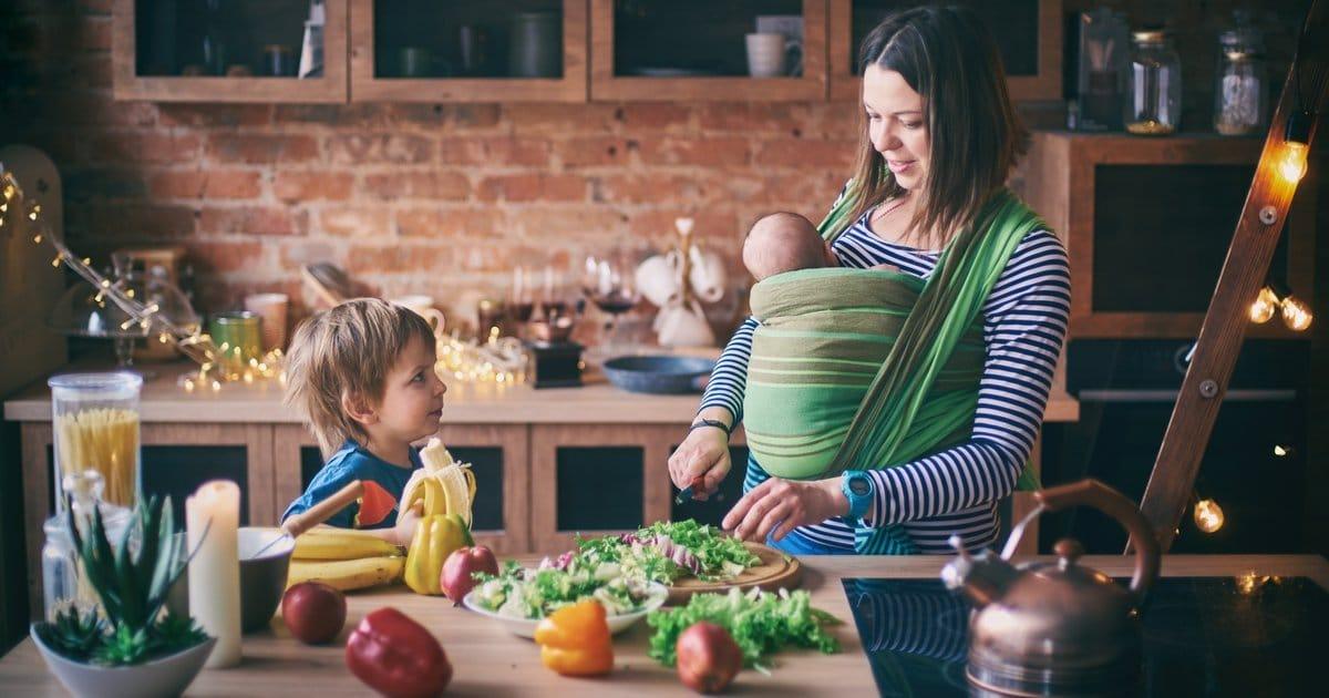 Gesund kochen mit Kleinkindern