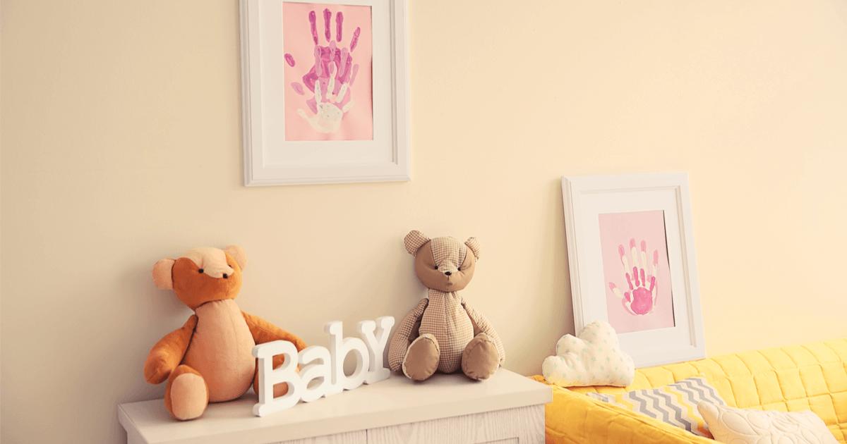Babyzimmer renovieren: So reduzierst du Schadstoffe im Kinderzimmer