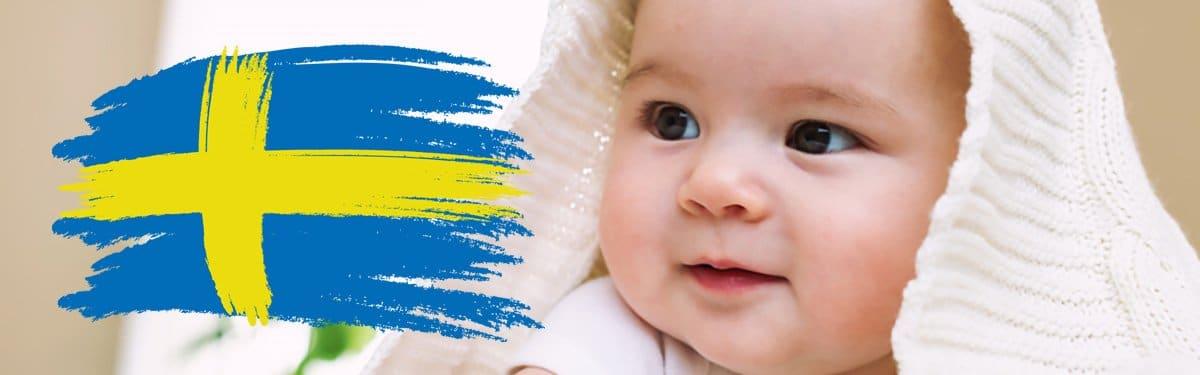 Schwedische Mädchennamen, Vornamen für Mädchen schwedischen Ursprungs