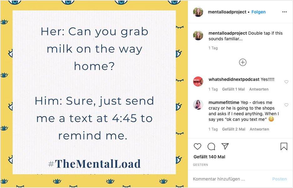 Mental Load: Verantwortung