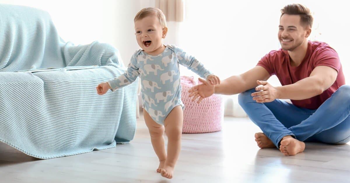 Ab Wann Laufen Baby Frühestens