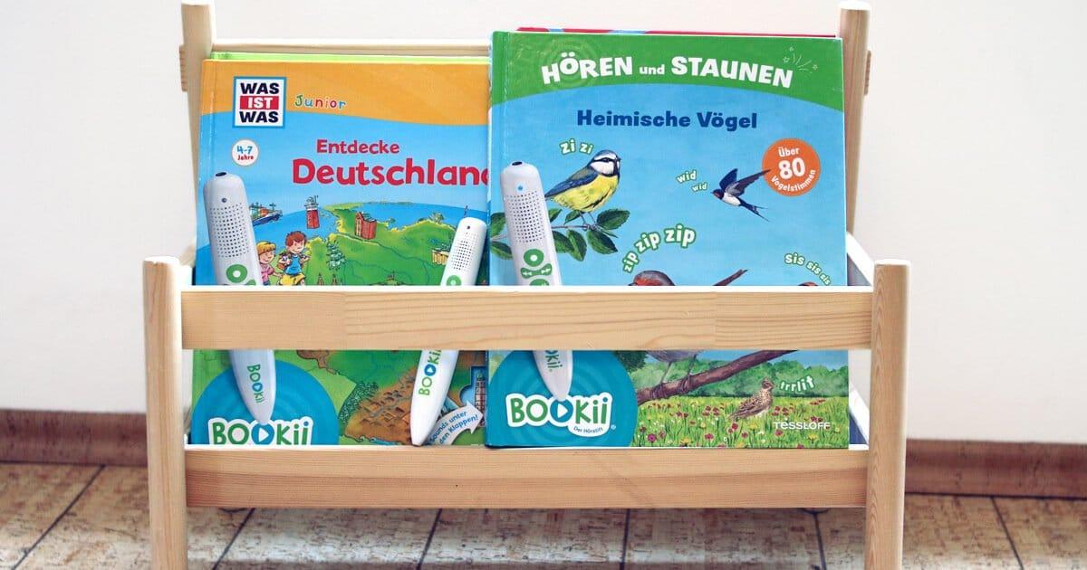 Geschenk für Kinder: Bookii Lesestift und Buch