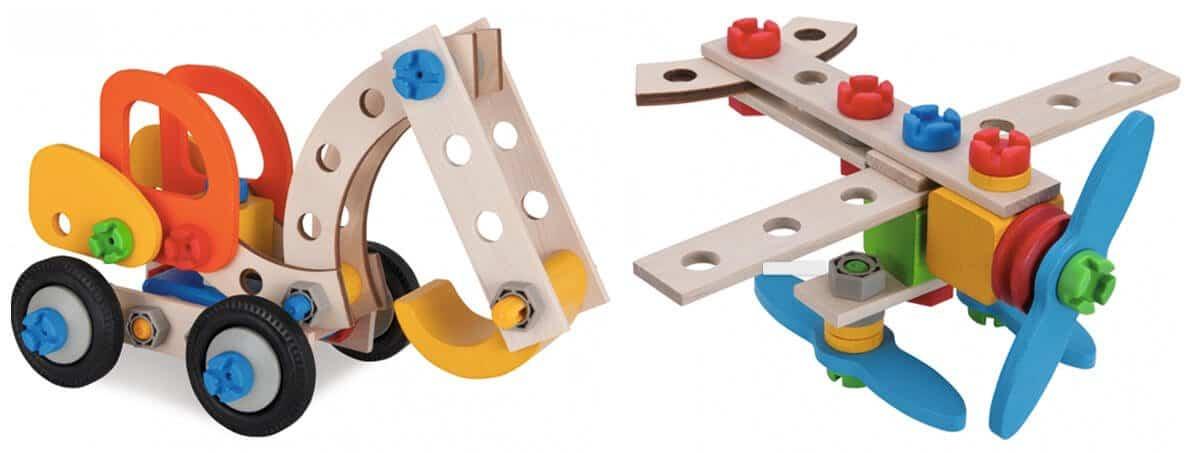 Geschenk für 3-Jährige: Eichhorn Constructor