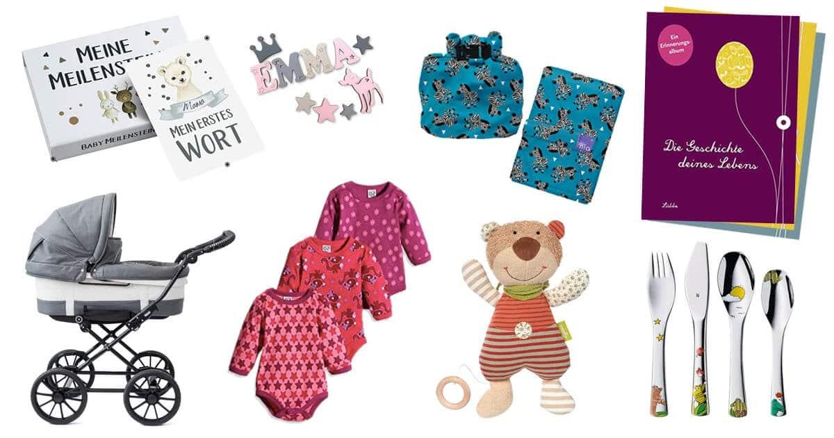 Geschenk zur Geburt finden: Das sind die besten Babygeschenke