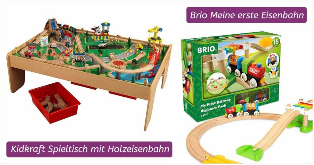 Geschenk für 2-Jährige: Holzeisenbahn