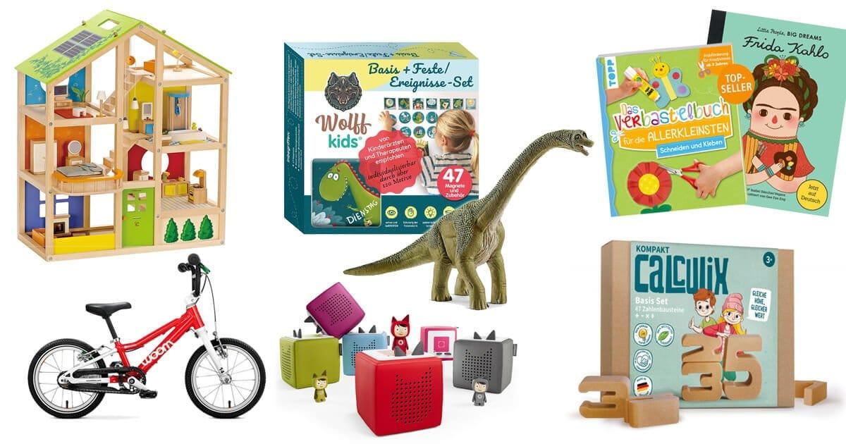 Geschenke für 3 Jährige: hochwertige Spiele die lange halten und kleine Aufmerksamkeiten für Kinder ab 3 Jahren