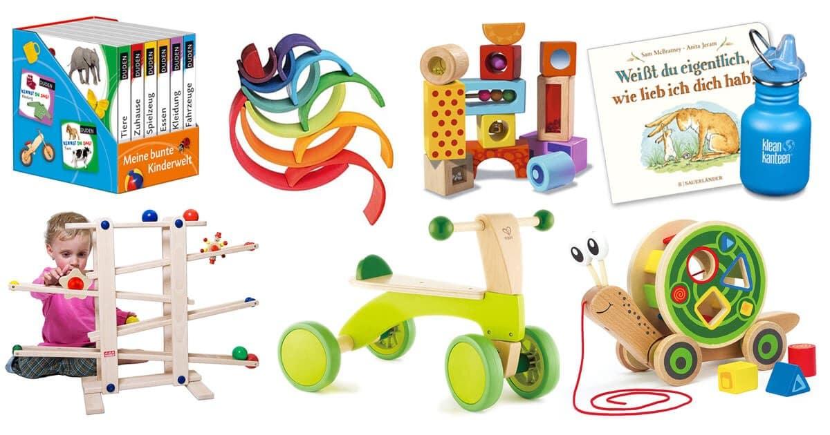 Geschenke zum 1. Geburtstag und Geschenke für Einjährige zu Weihnachten und anderen Anlässen