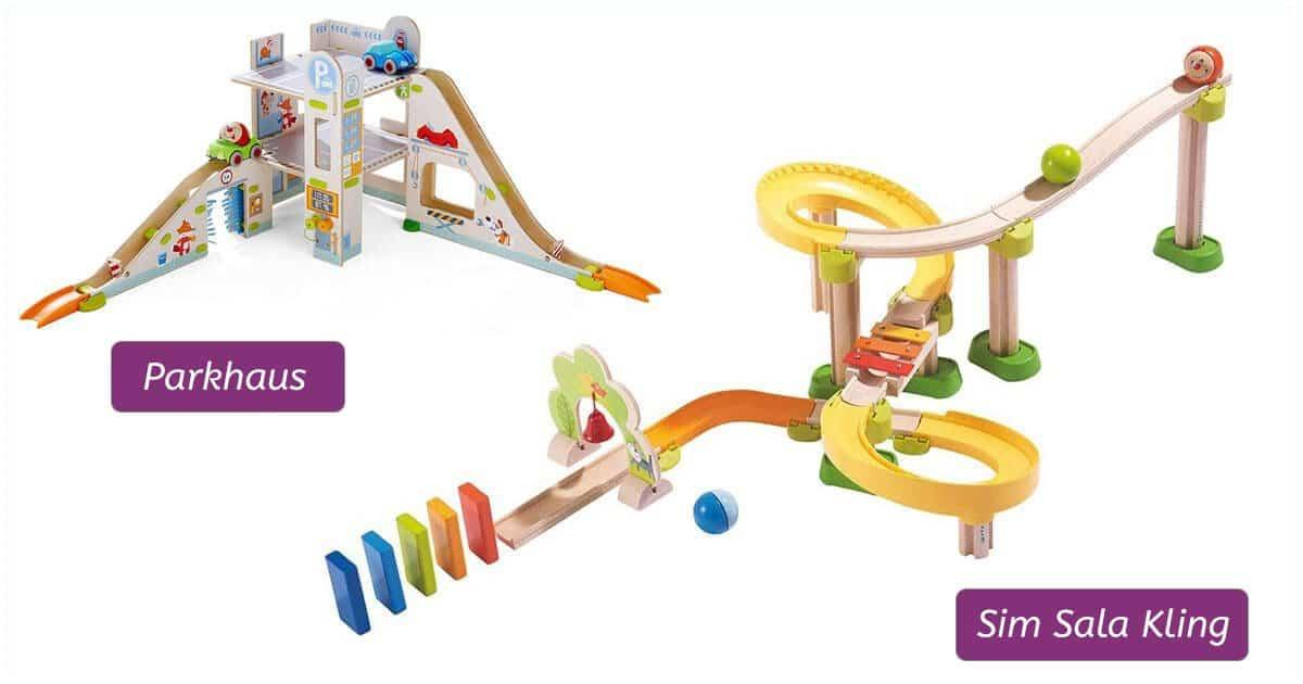 Geschenk für 2-Jährige: Kugelbahn Kullerbü