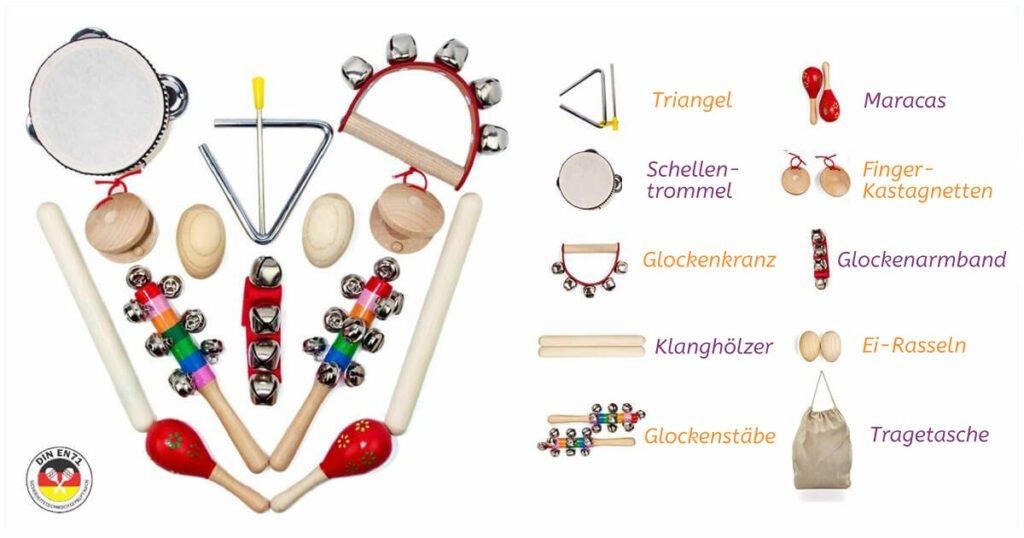 Geschenk zum 1. Geburtstag: Musikinstrumente