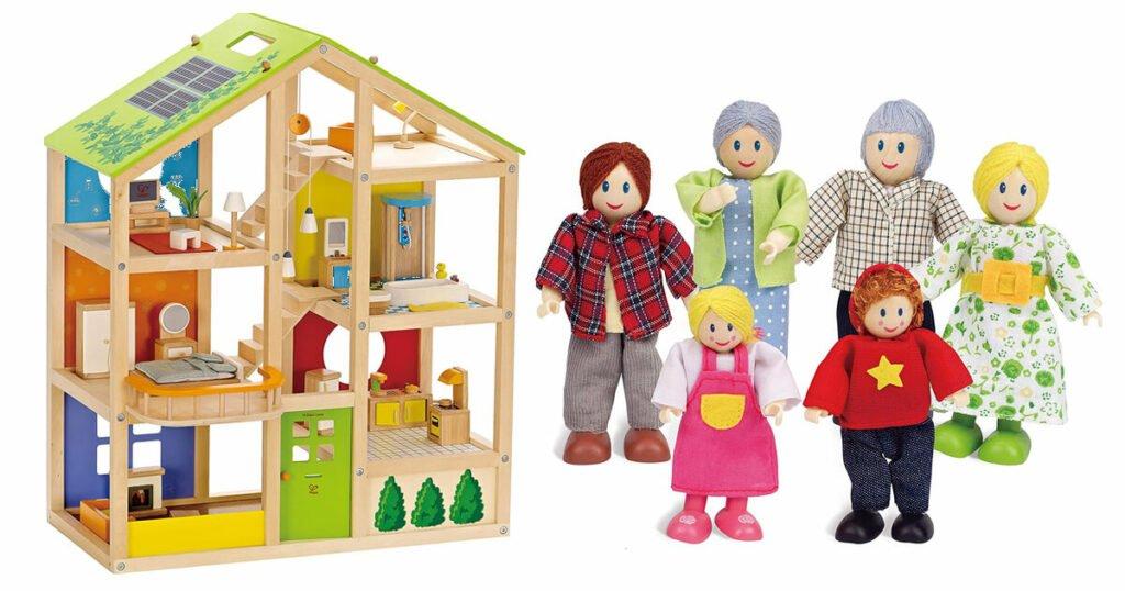 Geschenke für 3-Jährige: Puppenhaus