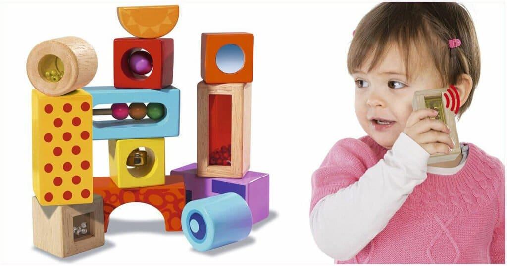 Geschenk zum 1. Geburtstag: Klangbausteine