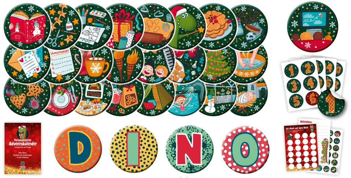 Zeit statt Zeug: Magnetischer Adventskalender für Kinder