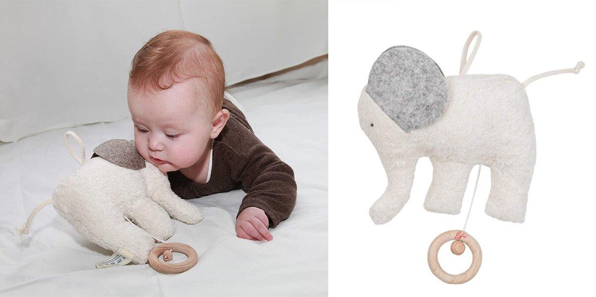 Elfie Öko-Spieluhr Elefant