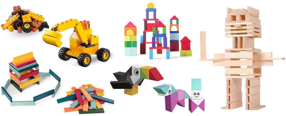 Die schönsten Bausteine und Bauklötze: Magnetbausteine, Holzbausteine, Lego und viele mehr