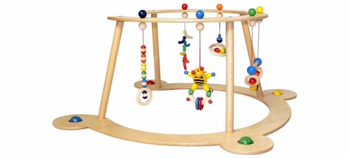 Spielbogen Holz Lauflernspielzeug