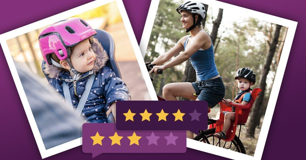 Kinderfahrradsitz: Fahrradsitz vorne oder hinten, das sind die besten Fahrradsitze für Kinder