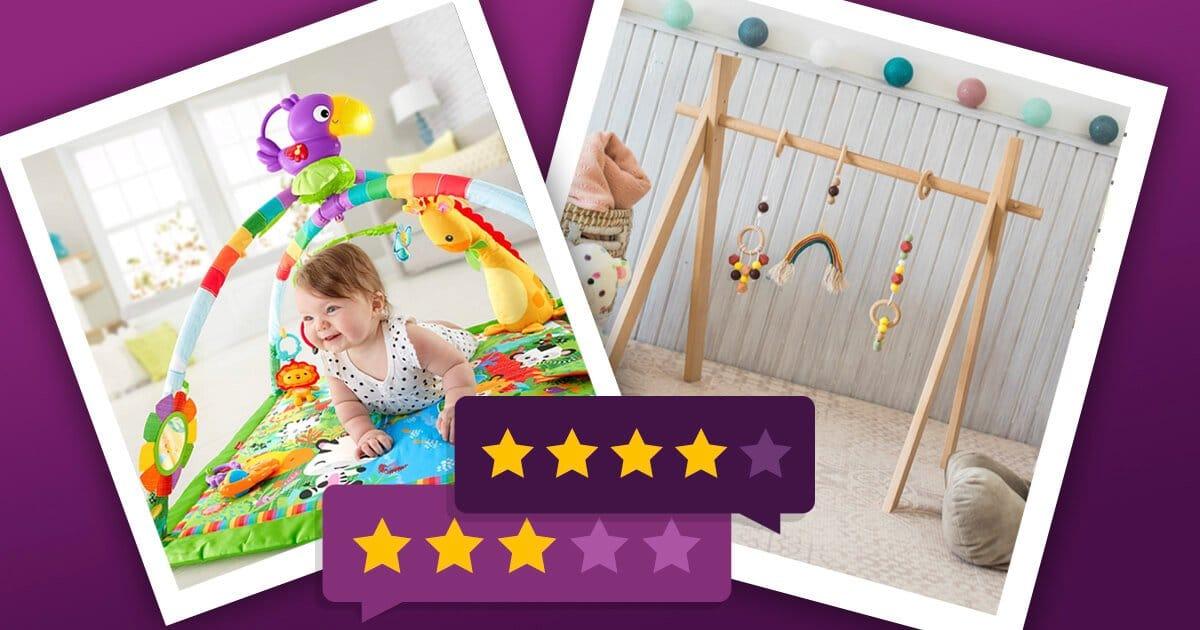 Spielbogen Spieltrapez für Babys