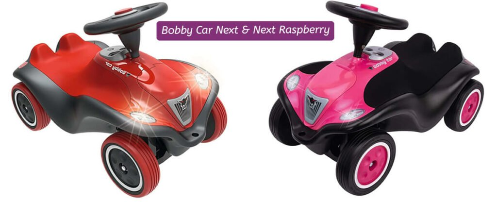 Bobby Car Next deluxe rot & raspberry (rosa)