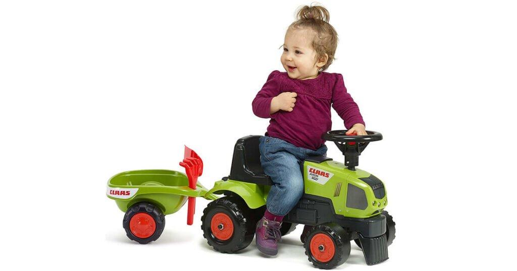 Rutschauto Traktor mit Anhänger