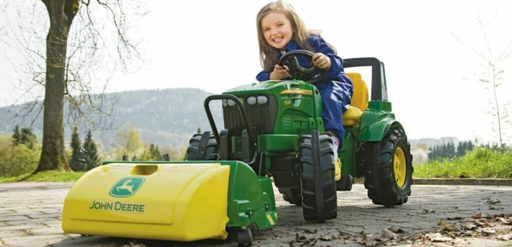 Rolly Toys großer Trettraktor für Kinder