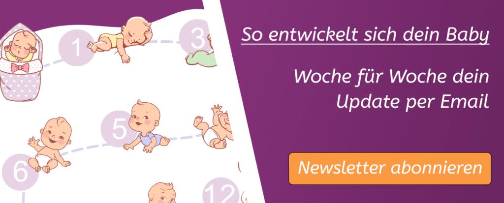 So entwickelt sich dein Baby - der Babelli Newsletter!