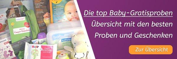 Die besten Baby-Gratisproben im Überblick