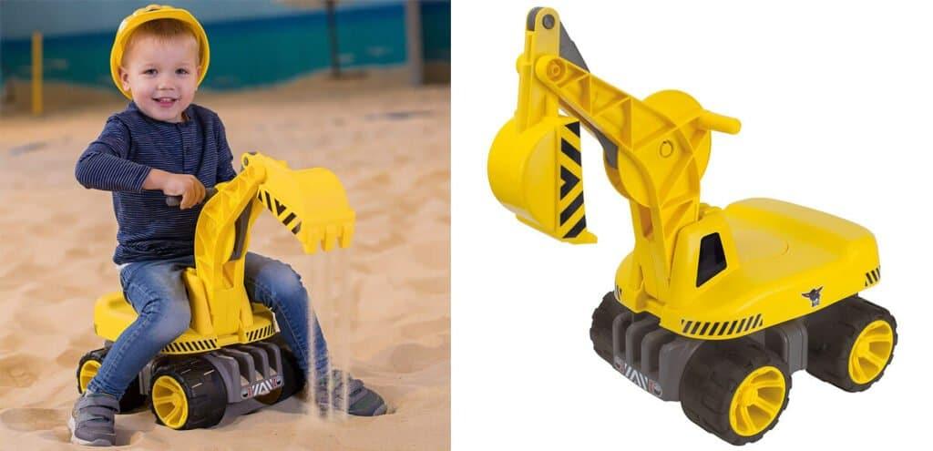 Big Sandkasten Bagger