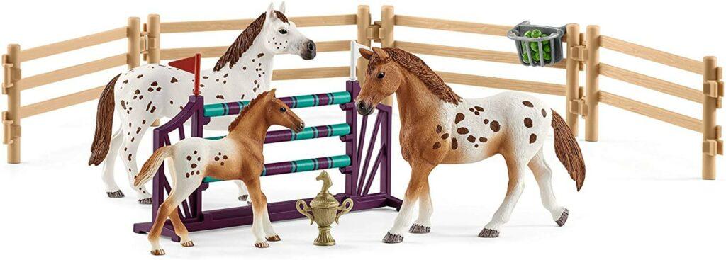 Schleich Pferde Lisas Turnier Training