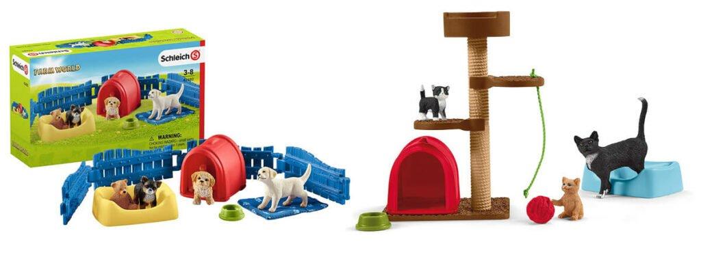 Farm World Welpen und Katzenbabys