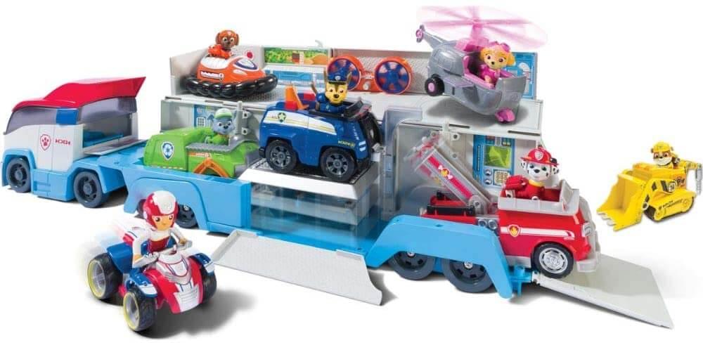 Paw Patrol Fahrzeuge und Figuren