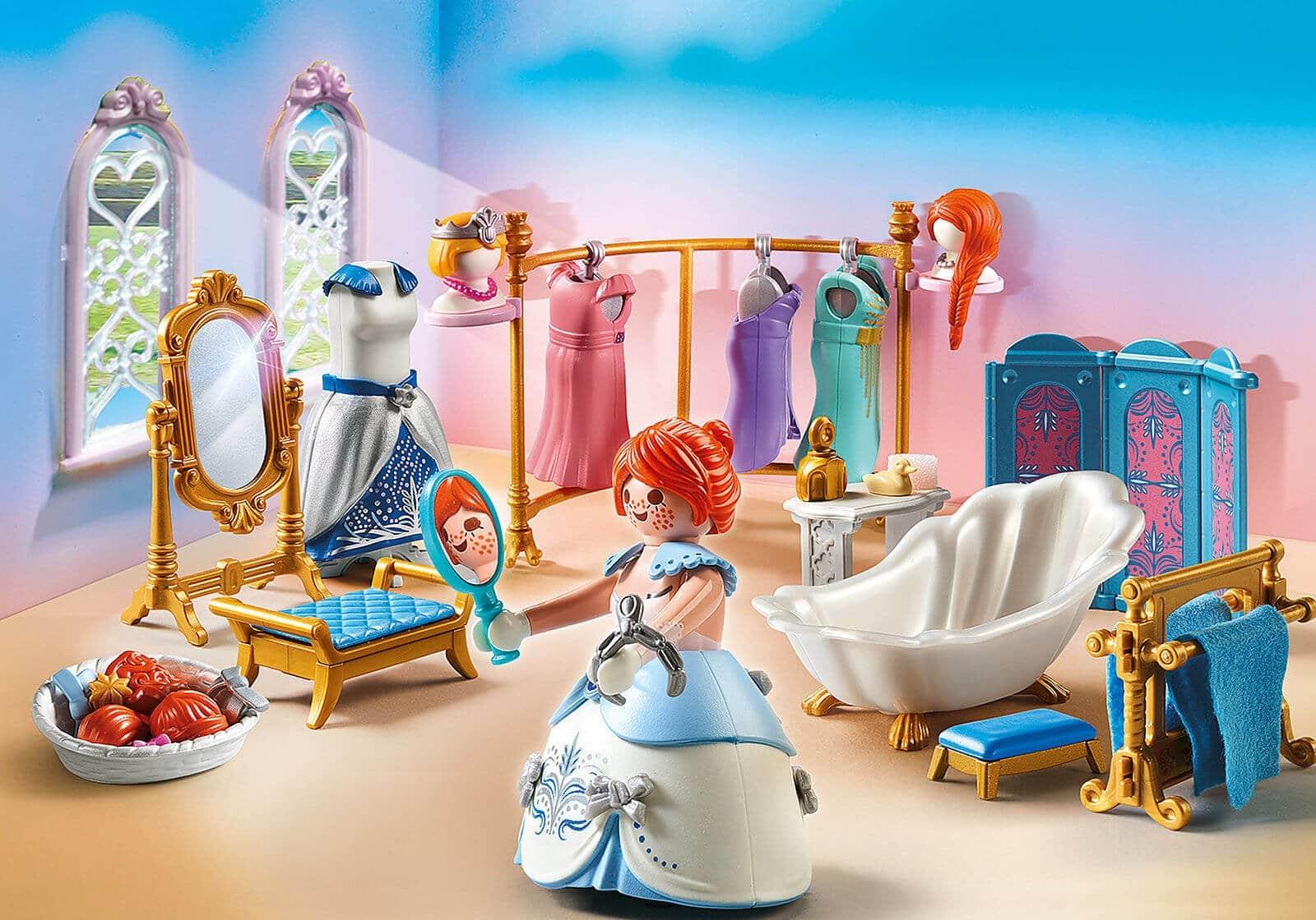 Mädchen Playmobil: Princess Ankleidezimmer