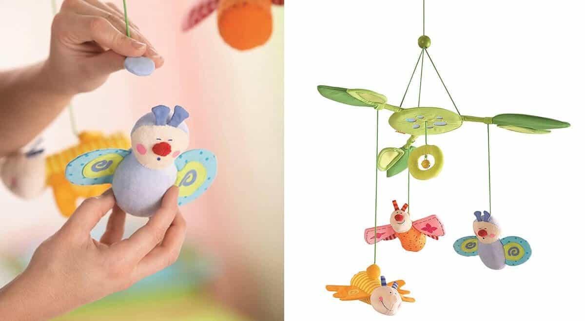 Mobile für Babys Modell Blütenfalter von Haba