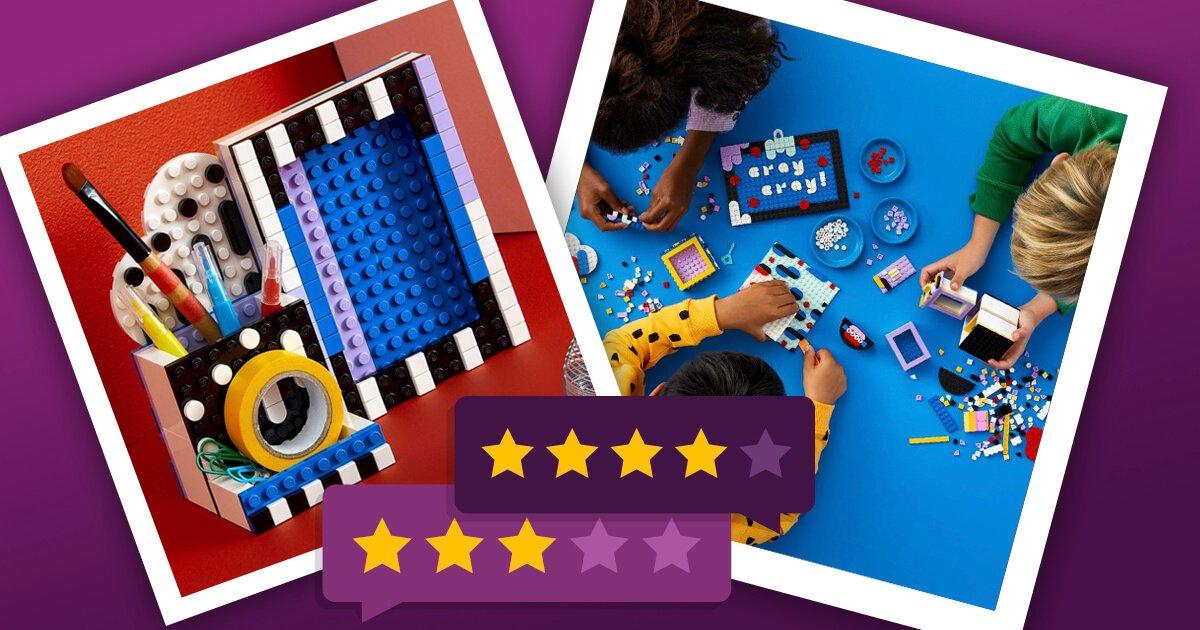 Lego Dots Design Accessoires mit dem typischen Lego Touch