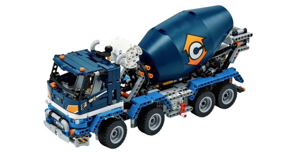 Lego Technic Betonmischer