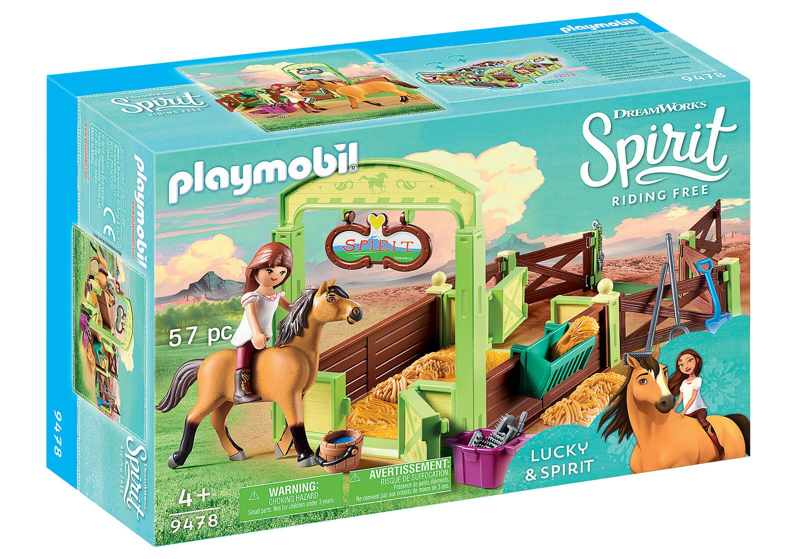 Mädchen Playmobil: Spirit