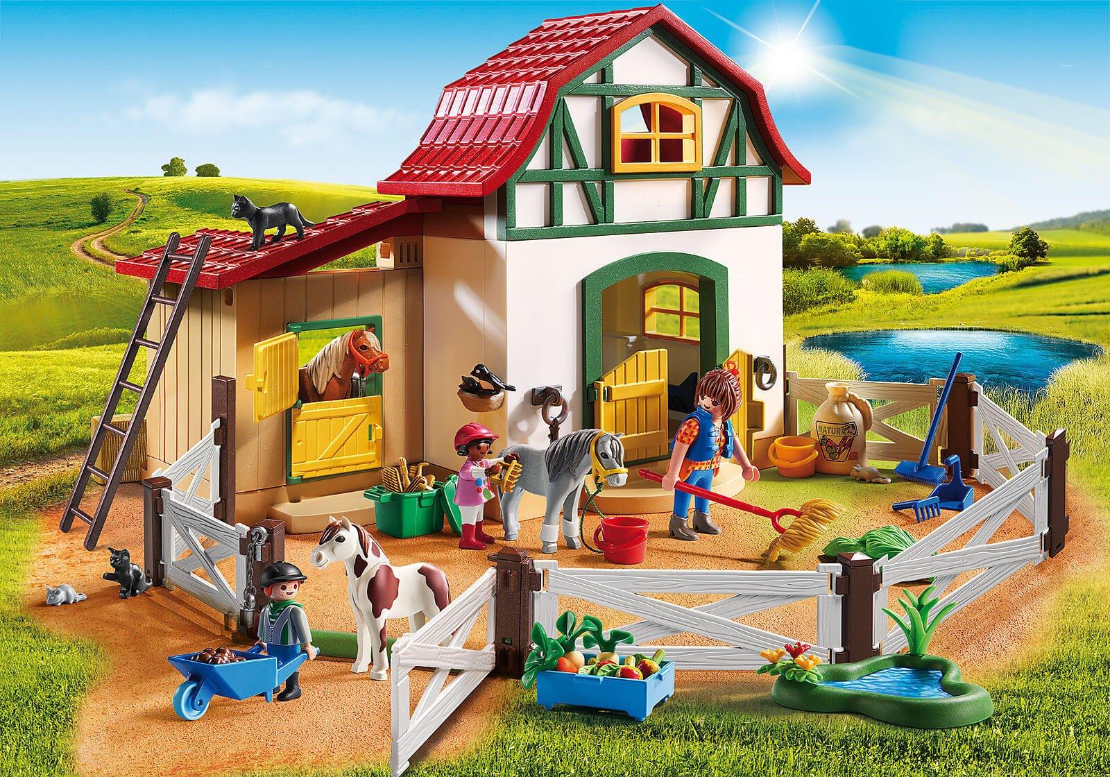 Mädchen Playmobil: Country Pferdehof