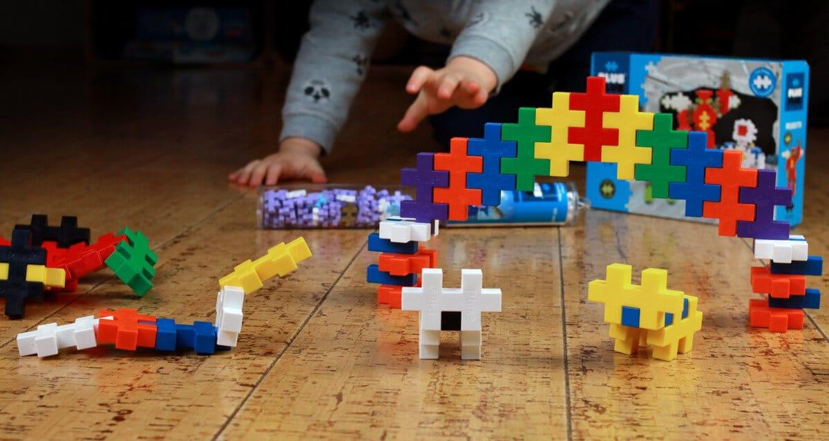Plus Plus groß - Konstruktionsspielzeug für Kleinkinder