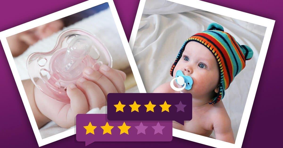 Schnuller: Empfehlenswerte zahngesunde Nuckel für Babys
