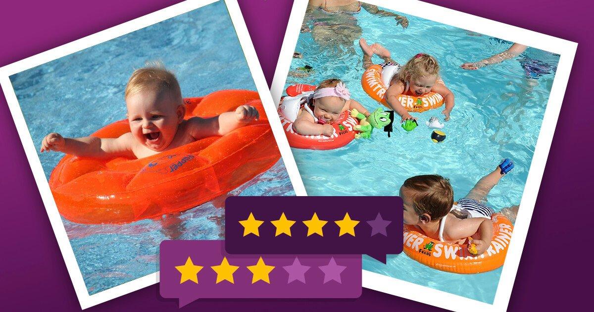 Schwimmhilfe Baby: Empfehlenswerte Auftriebshilfen für Babys