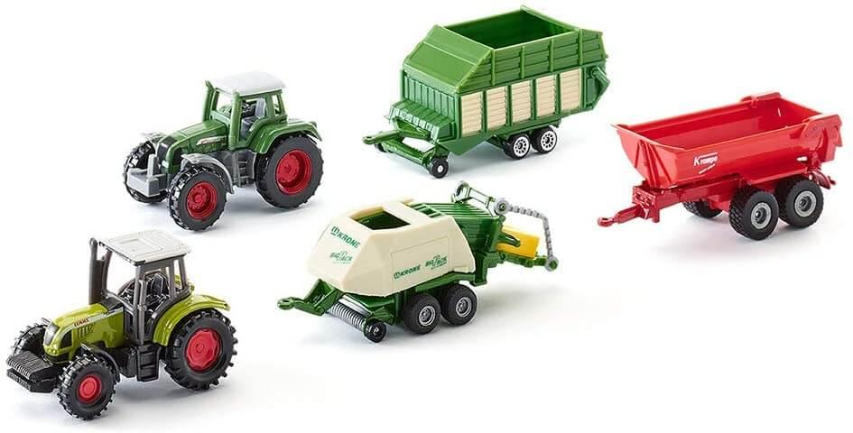 Siku Geschenkset Traktoren und Anhänger