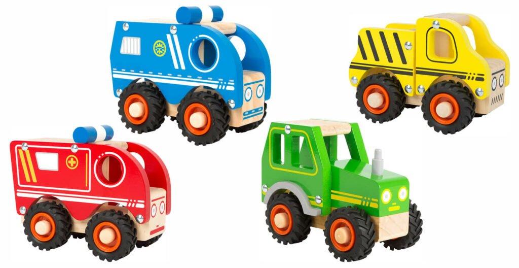Small Foot Spielzeugauto Einsatzfahrzeug