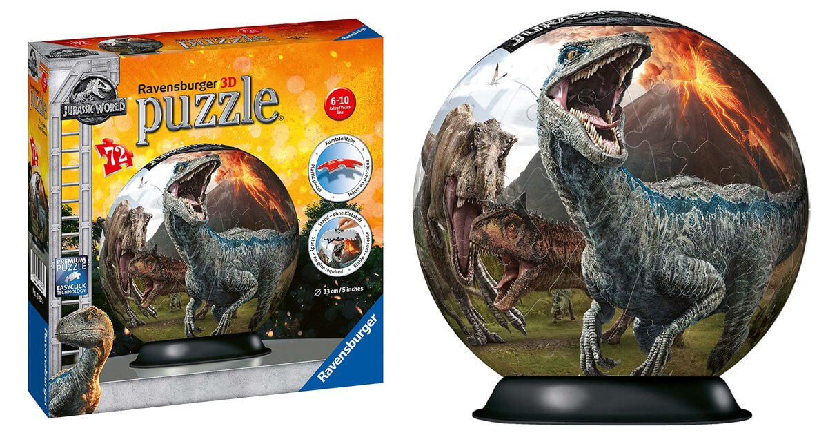 Dino Puzzle-Ball